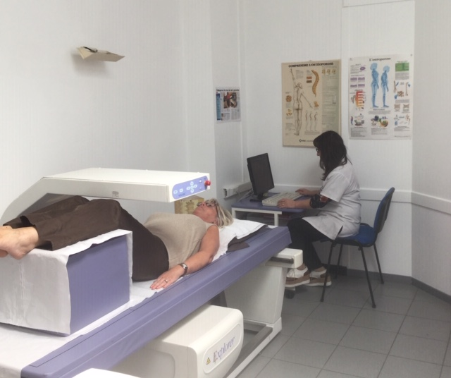 Osteodensitometrie